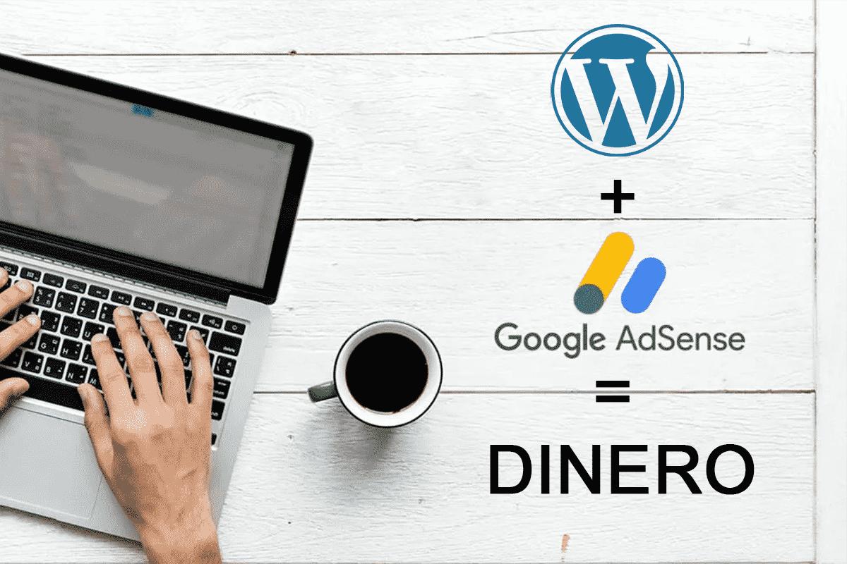 como hacer un blog en wordpress ganar dinero con google adsense