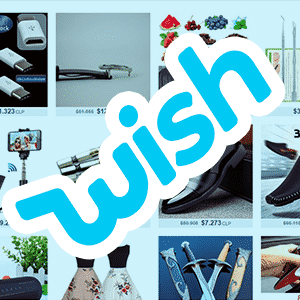 entrar como invitado en Wish sin cuenta y sin registrarse